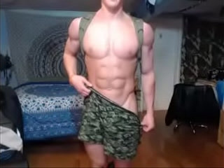 Free muscular guy videos